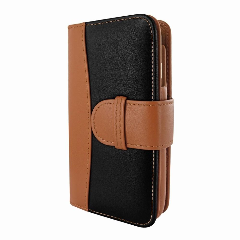 Piel Frama Wallet iPhone 6(S) zwart/bruin