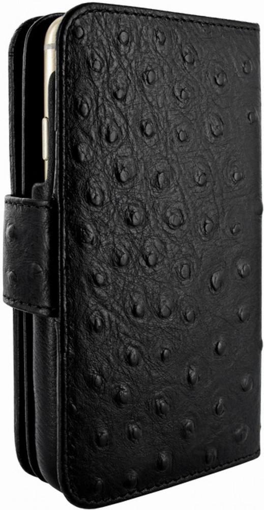 Piel Frama Wallet iPhone 6(S) struisvogel zwart