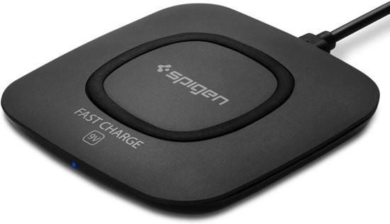 Spigen Essential Wireless Charger zwart