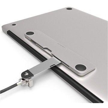 Maclocks Blade universeel Macbook & tablet + kabel zilver
