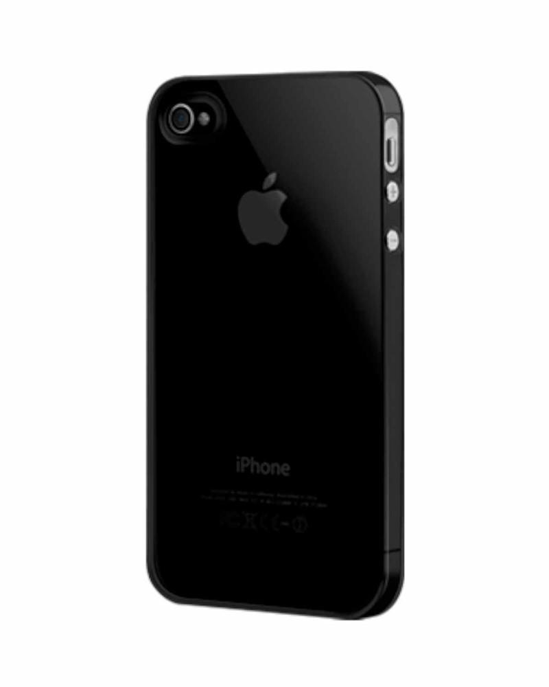 SwitchEasy Nude hard case iPhone 4(S) zwart