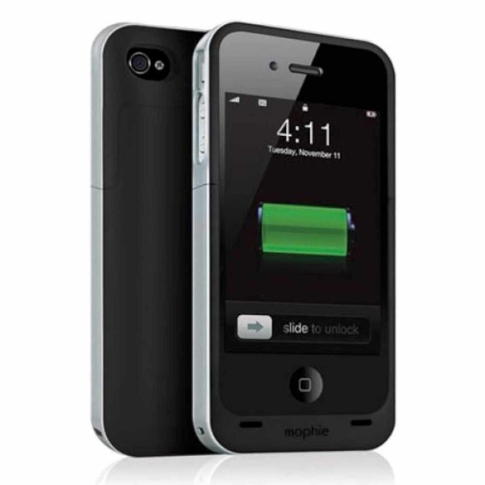 Mophie Juice Pack Air iPhone 4(S) zwart