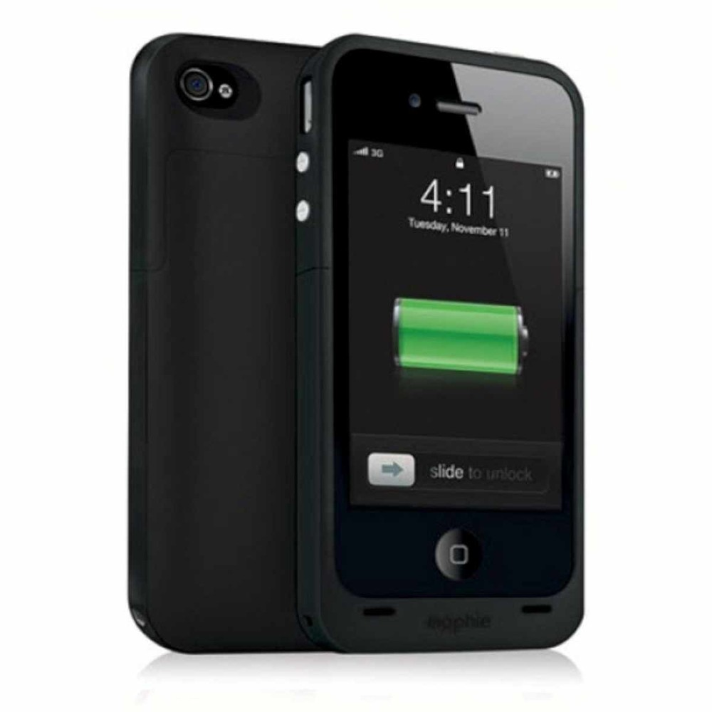 Mophie Juice Pack Plus iPhone 4(S) zwart