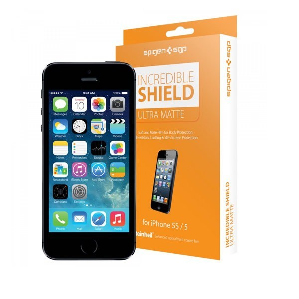 Spigen Incredible Shield ULTRA MATTE iPhone 5(S)/SE Full Body Protector