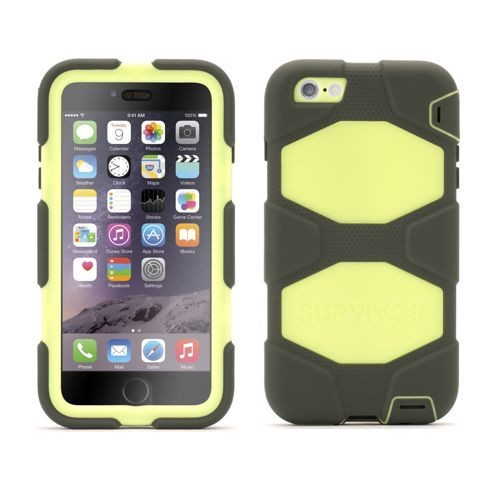 Griffin Survivor All-Terrain hardcase iPhone 6(S) Plus groen