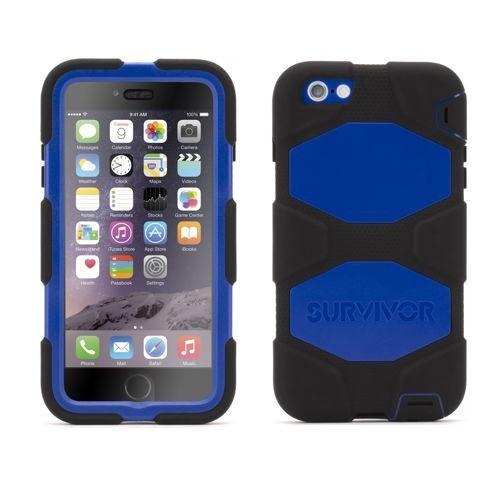 Griffin Survivor Hardcase iPhone 6(S) Plus blauw/zwart