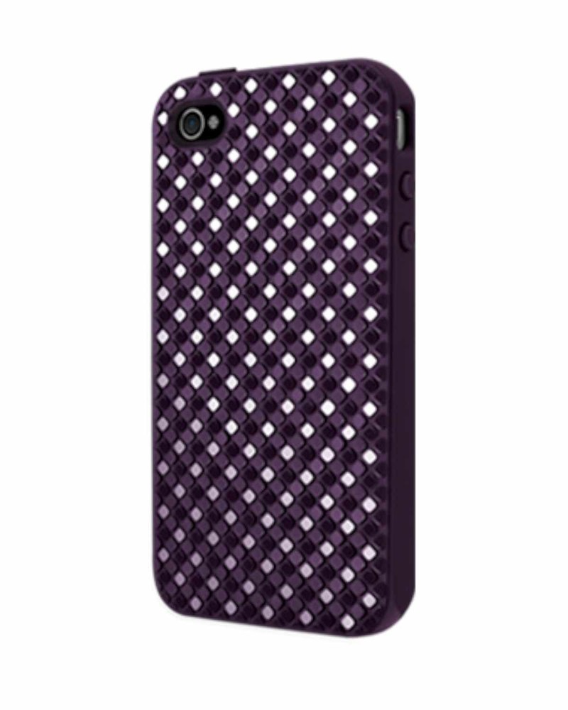 SwitchEasy Hard Case Glitz iPhone 4(S) paars