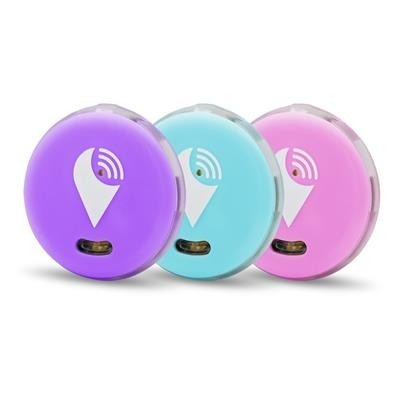 TrackR Pixel 3 Pack lichtblauw/paars/roze