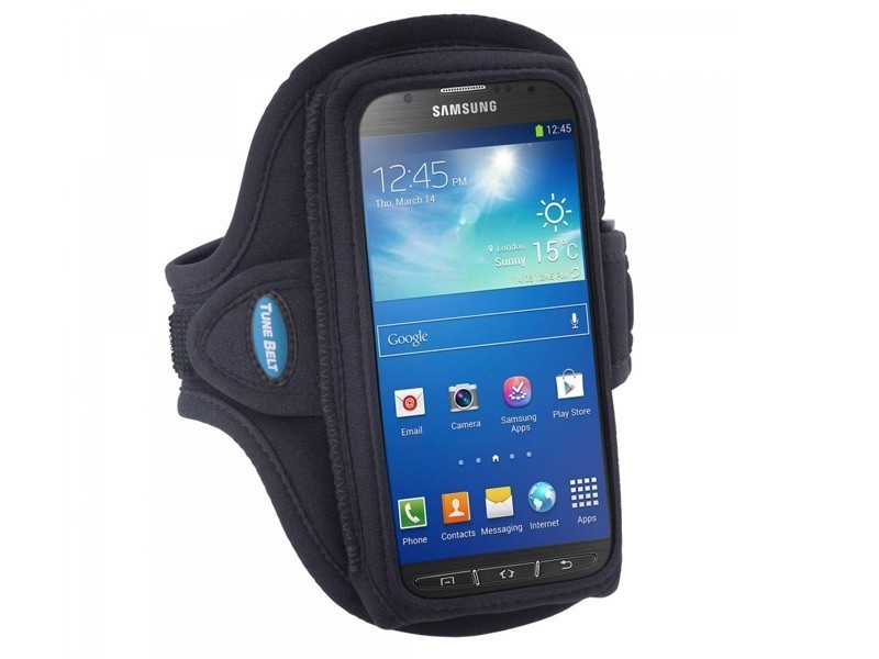 Tune Belt Sport armband AB89 Galaxy Note 3 zwart