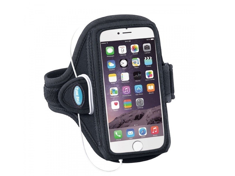 Tune Belt Sport armband AB87 iPhone 5(S)/5C/SE zwart