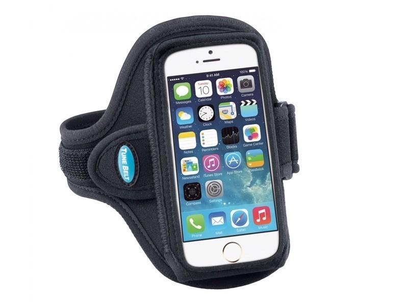Tune Belt Sport armband AB86 iPhone 6(S) / 7 / 8 / SE 2020 zwart