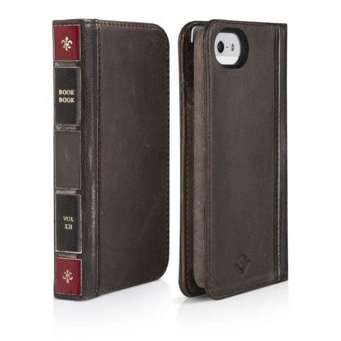 Twelve South BookBook iPhone 5(S)/SE bruin