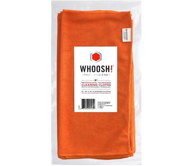 Whoosh Antimicrobial Microfiber reiniging doekjes ( 12 pack)