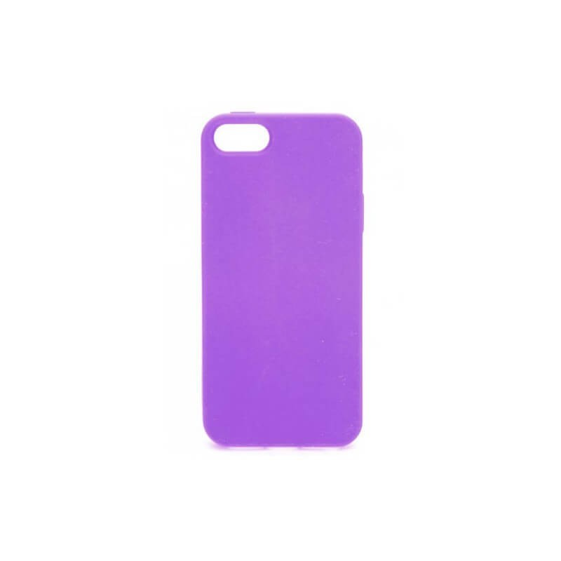 Soft Grip Case iPhone 5 / 5S TPU Hoes Lila
