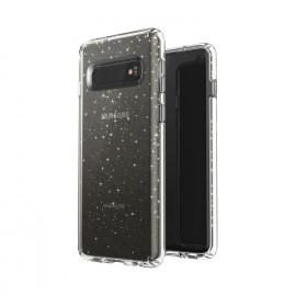 Speck Presidio + Glitter Samsung Galaxy S10 goud / clear