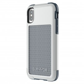 Griffin Survivor Fit for iPhone X blauw/ grijs