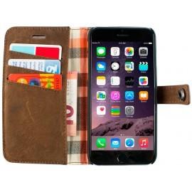 iMoshion Moyland Wallet Case iPhone 6(S) bruin