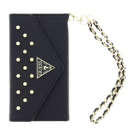 Guess Studded Clutch Case iPhone 6(S) Plus zwart