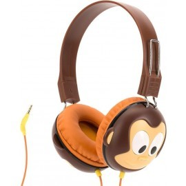 Griffin Kazoo Kids Headphones Monkey