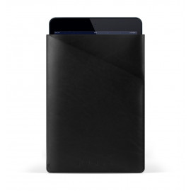 Mujjo Slim Fit iPad Air Lederen Sleeve zwart