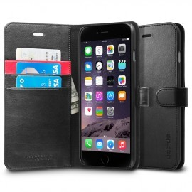 Spigen Wallet S iPhone 6(S) Plus zwart