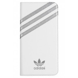 Adidas Booklet case iPhone 6(S) Plus wit/zilver