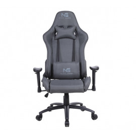 Nordic Gaming Racer Fabric gaming chair donkergrijs