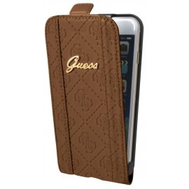 Guess Scarlett iPhone 6 / 6S Flip Case Cognac