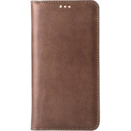 Melkco Herman iPhone 5 / 5S Book Case Italian Brown
