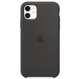 Apple silicone case iPhone 11 black