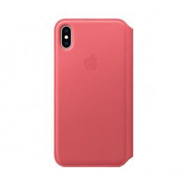 Apple leather Folio case iPhone XS Max Pink