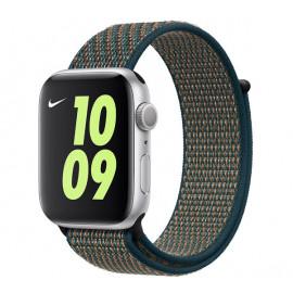 Apple Nike Sport Loop Apple Watch 42mm / 44mm Hyper Crimson / Neptune Green