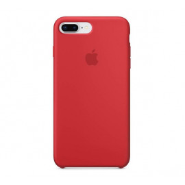 Apple Siliconen case iPhone 7 / 8 Plus rood