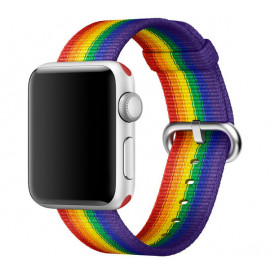 Apple Woven Nylon Apple Watch 38mm / 40mm Pride Edition