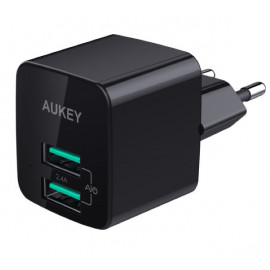 Aukey 2 Port USB-A Charger 12W