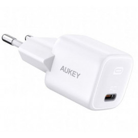 Aukey USB C Power Delivery Mini Charger 20W - White
