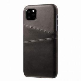 Casecentive Leren Wallet back case iPhone 12 Mini black