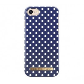 iDeal of Sweden Fashion Case iPhone 8 / 7 blue polka dots