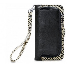 Mobilize 2in1 Gelly Wallet Zipper Case iPhone 6(S) / 7 / 8 / SE 2020 zwart/zebra