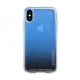Tech21 Pure Shimmer iPhone X / XS blauw