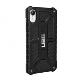 UAG Hard Case Monarch iPhone XR Carbon zwart