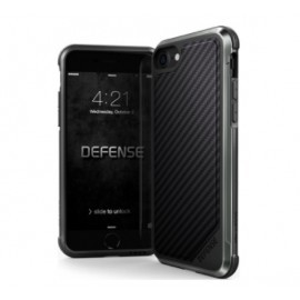 X-Doria Defense Lux cover iPhone 7/8 zwart