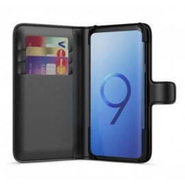 BeHello Wallet Case Galaxy S9 Plus Zwart