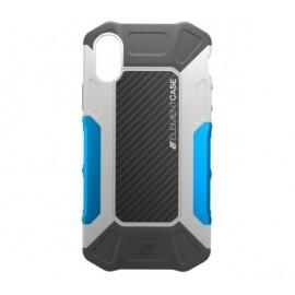 Element Case Formula Case iPhone X / XS grijs / blauw