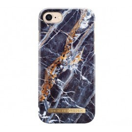 iDeal of Sweden Fashion Back Case iPhone 8 / 7 midnight blue marble