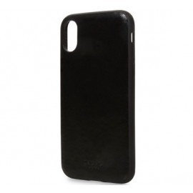 Knomo iPhone X Snap On Case Zwart