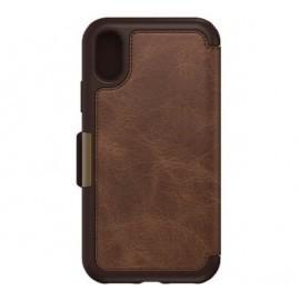 Otterbox Strada Folio iPhone X Espresso Brown Limited Ed.