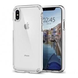 Spigen Ultra Hybrid Case iPhone X transparant