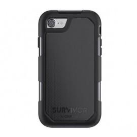 Griffin Survivor Summit case iPhone 7 / 8 / SE 2020 zwart