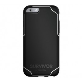 Griffin Survivor Journey iPhone 6(S) Plus zwart/wit